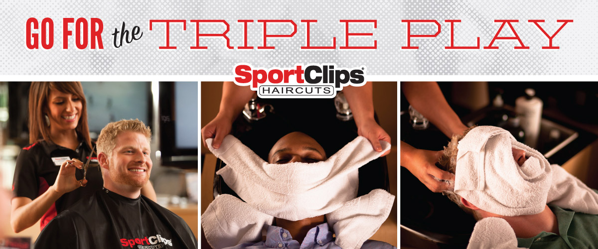 The Sport Clips Haircuts of Valley Ranch Town Center Triple Play
